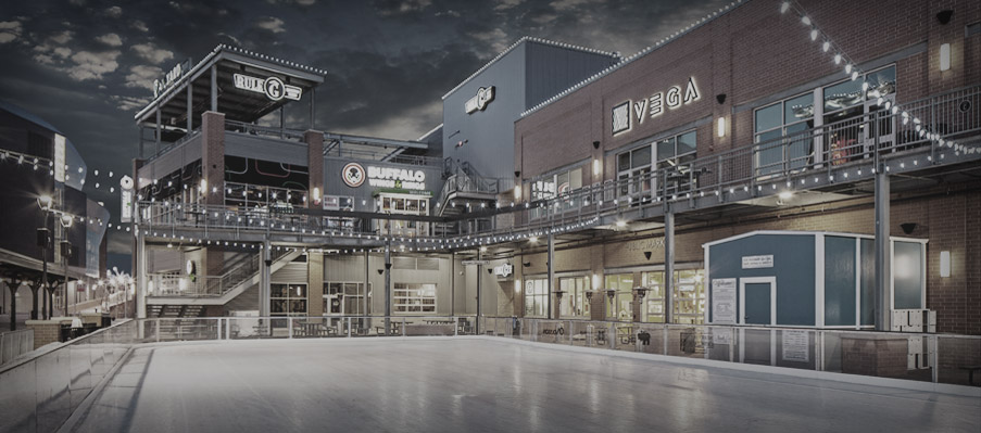 The Ice Rink at Railyard | Canopy Street